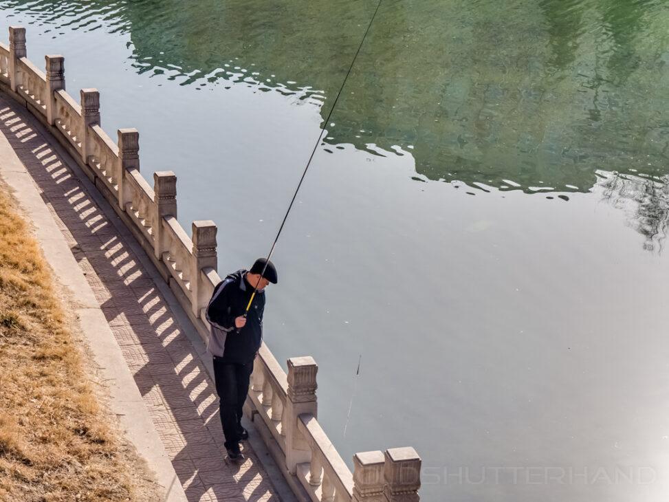 Peking Yuyuantan Park Angler 2013