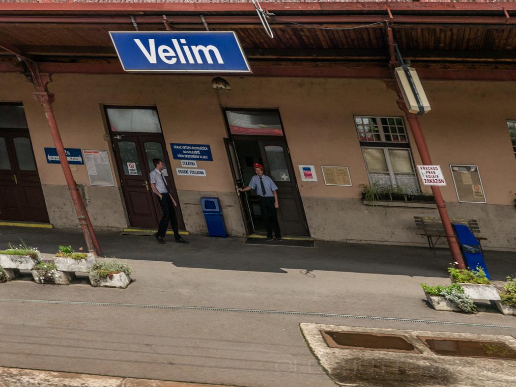 Durchfahrt im Bahnhof von Velim CZ