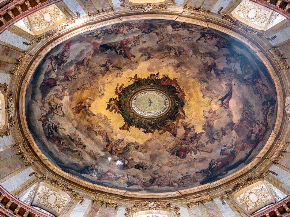 Kuppel der Peterskirche in Wien