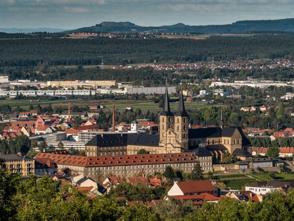 Blilck von der Altenburg in Bamberg