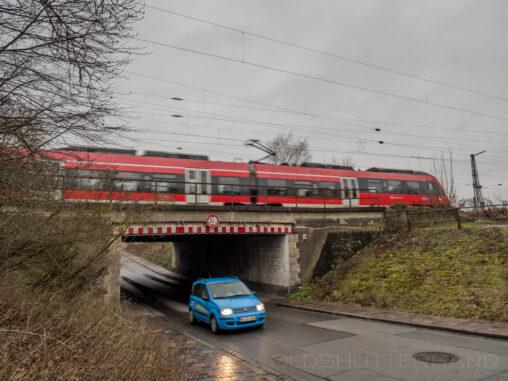 Bamberg Bahnunterführung