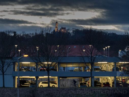Altenburg und P+R Platz