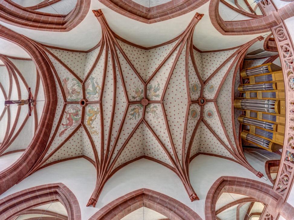 Decke von St.Laurentius in Ebern