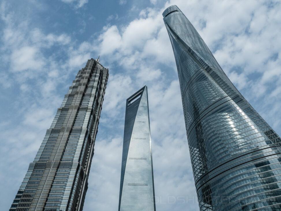 Pudong Hochhäuser
