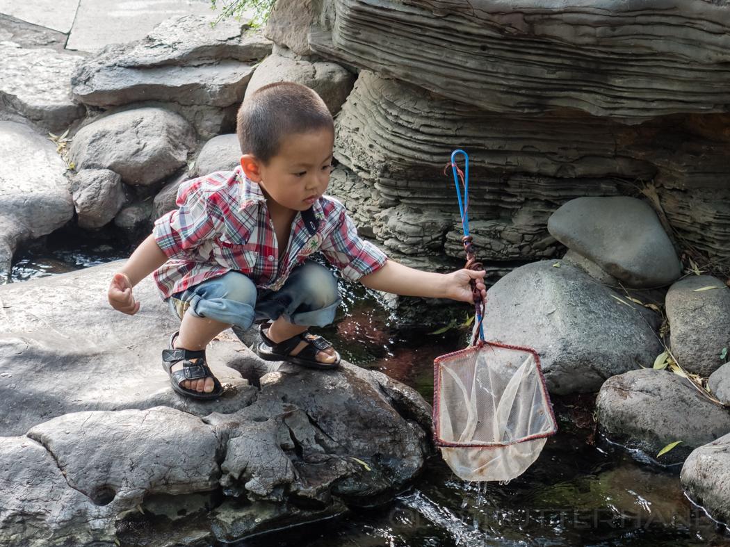 Junger Fischer …