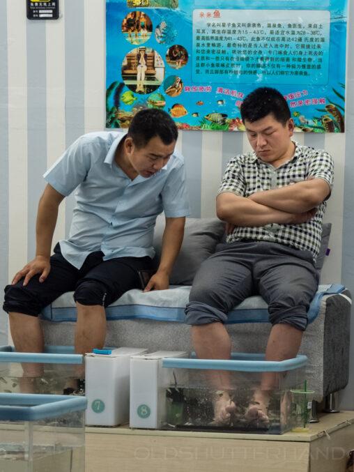 Chinesische Fußpflege