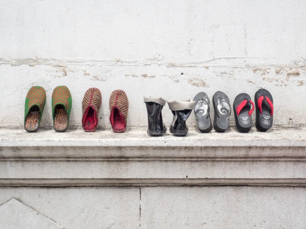 Schuhe in Schanghai
