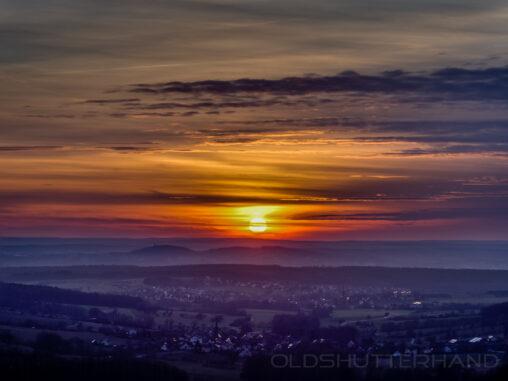 Sonnenuntergang Ellertal