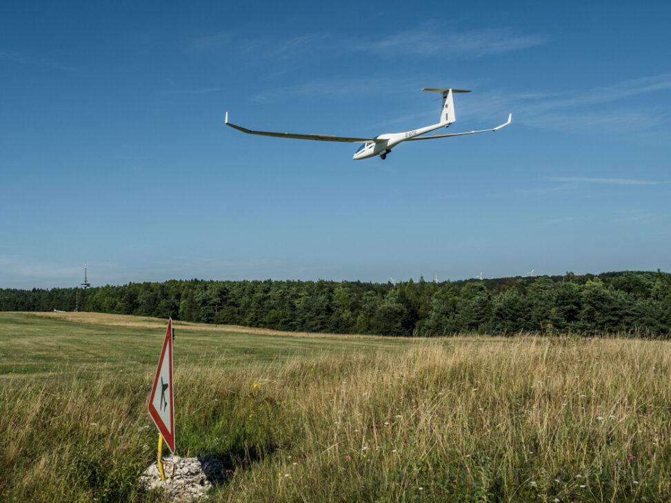 Segelflugzeug Friesener Warte