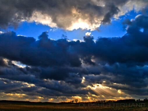 Wolken über Franken
