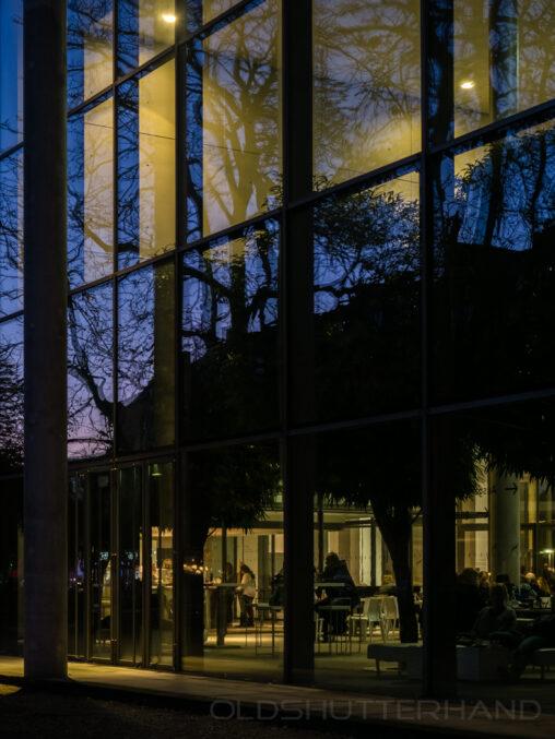 München Pinakothek der Moderne Cafeteria