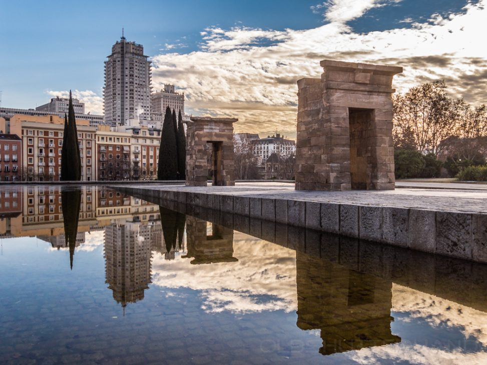 Madrid Debod Temple