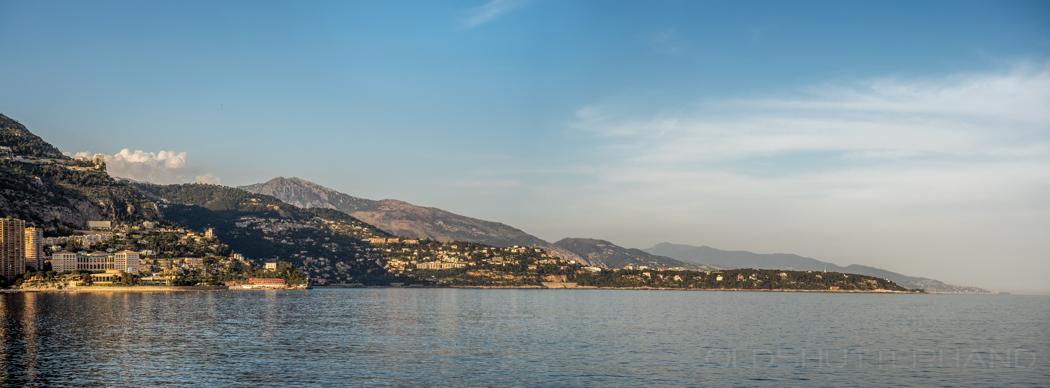 Blick von Monaco …