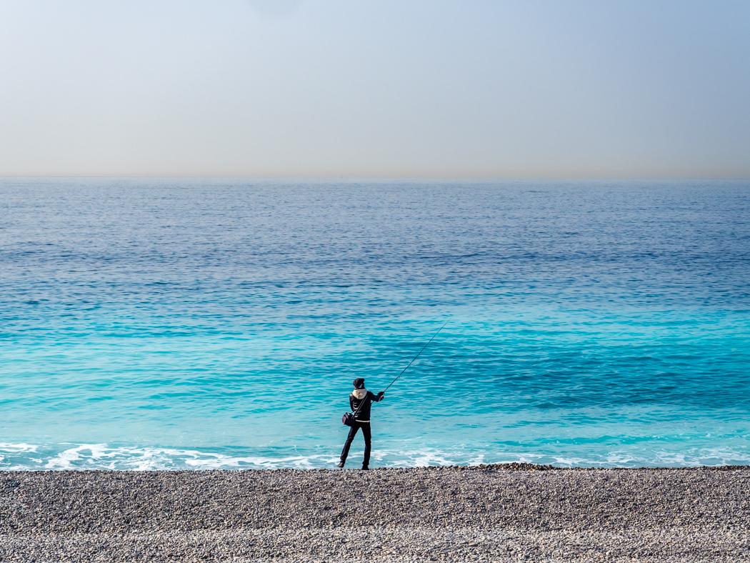 Angler in Nizza