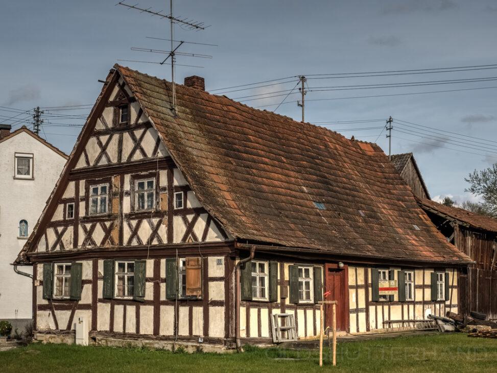 Fachwerkhaus in Oberleiterbach
