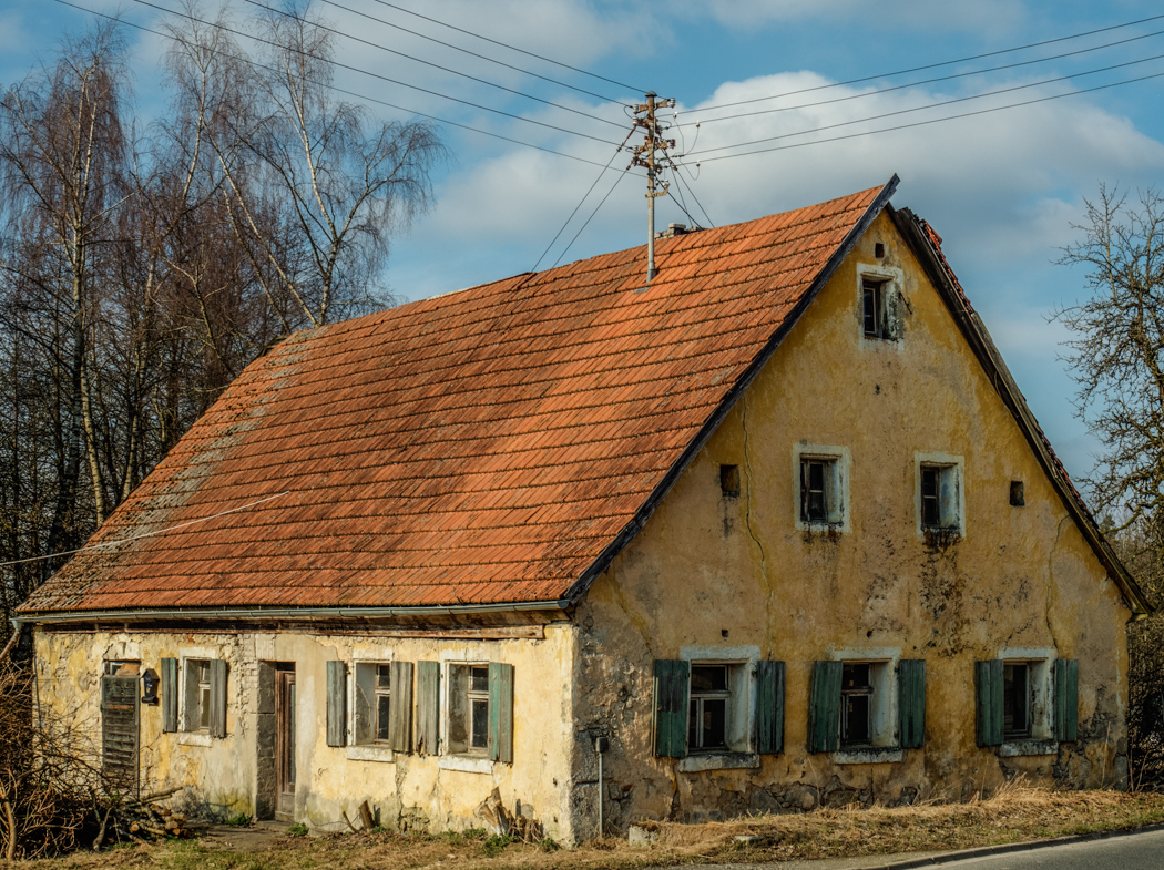 Ruine in Oberleiterbach