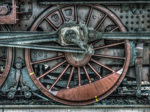 Lokomotive 2455 Posen/Rumänische Lok Nr. 230 094, gebaut 1919, repariert und wieder in Betrieb gesetzt 2001