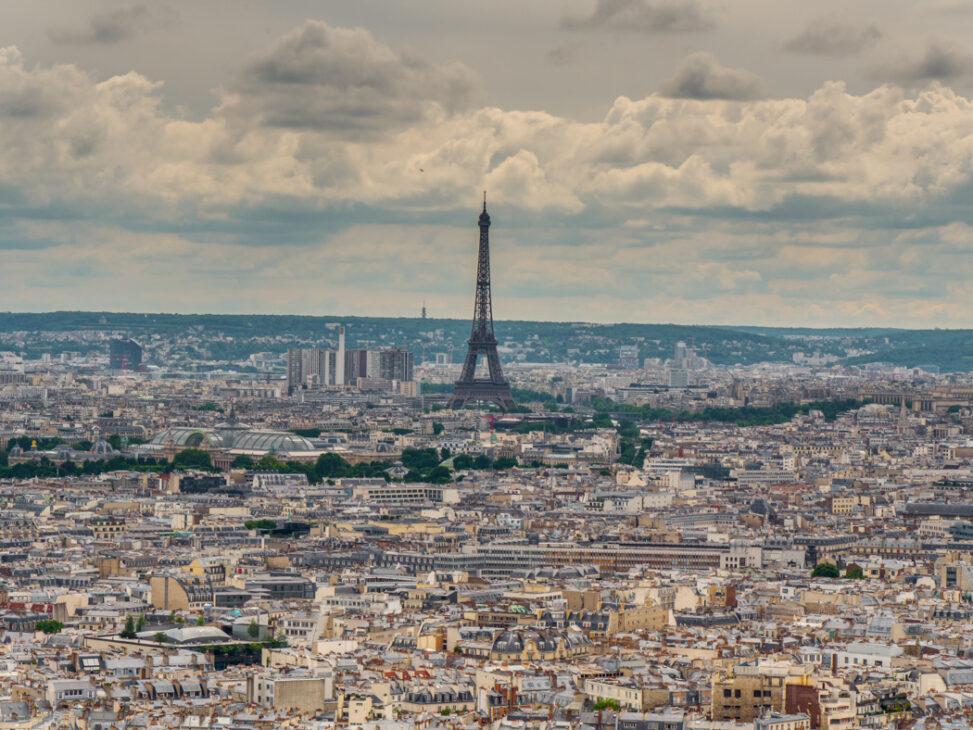 Blick vom Montmartre