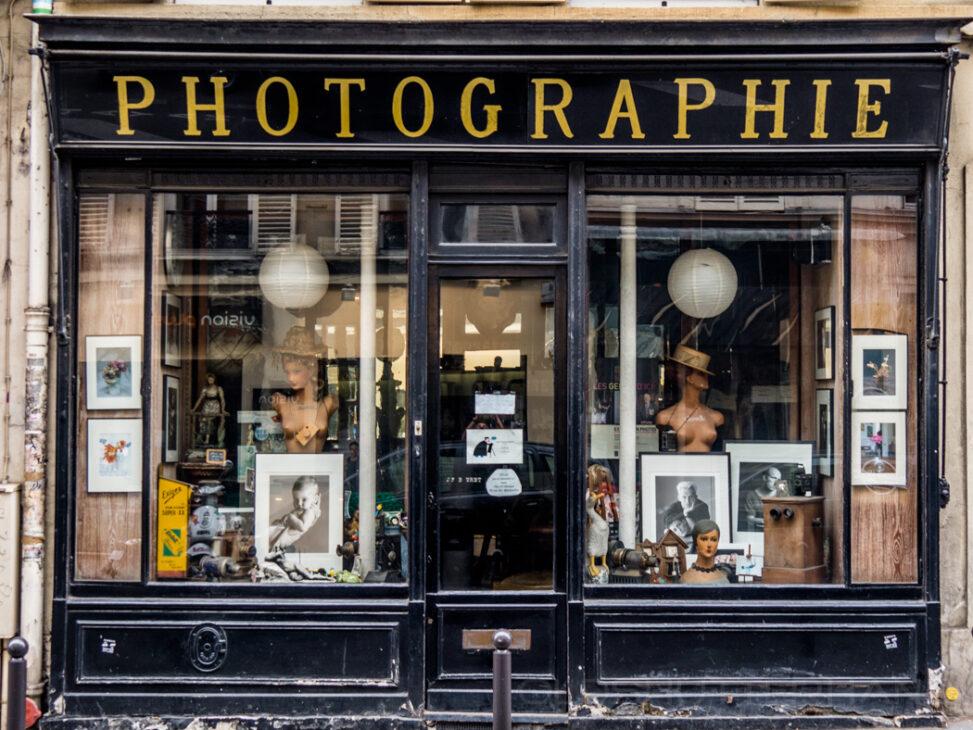 Rue des Batignolles Photographie