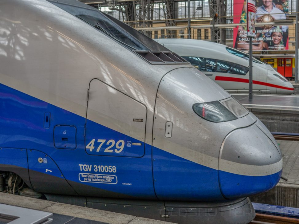 Gare de L´est, TGV und ICE