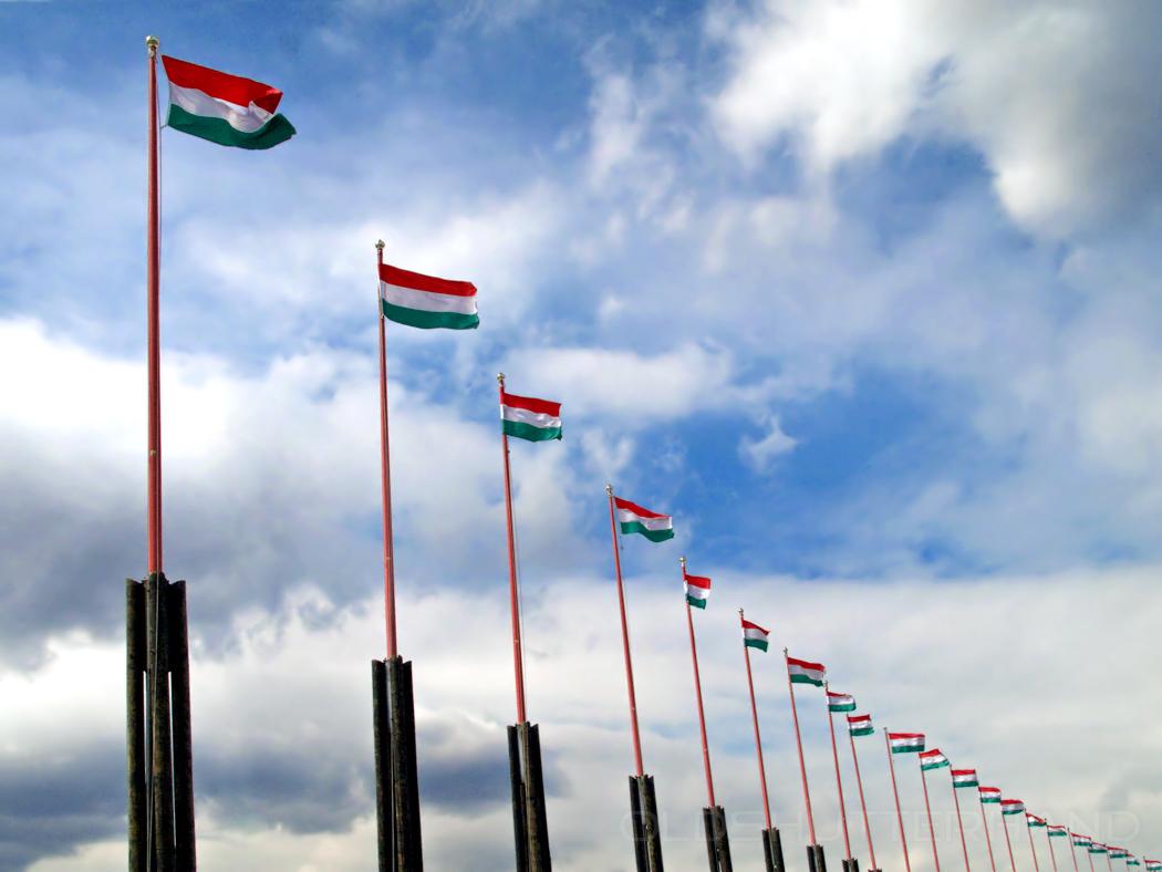 Flaggen Ungarn