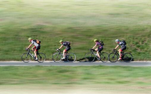 Radfahrergruppe
