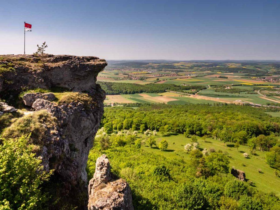 Blick vom Staffelberg
