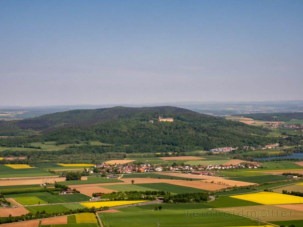 Blick auf Kloster Banz