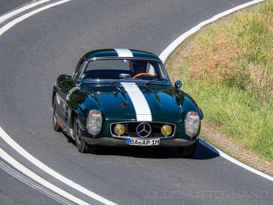 Mercedes beim Würgauer Bergrennen 2019