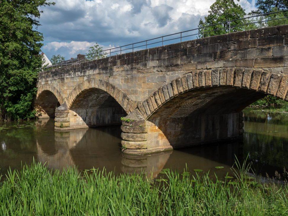 #52 Alte Brücke in Baunach