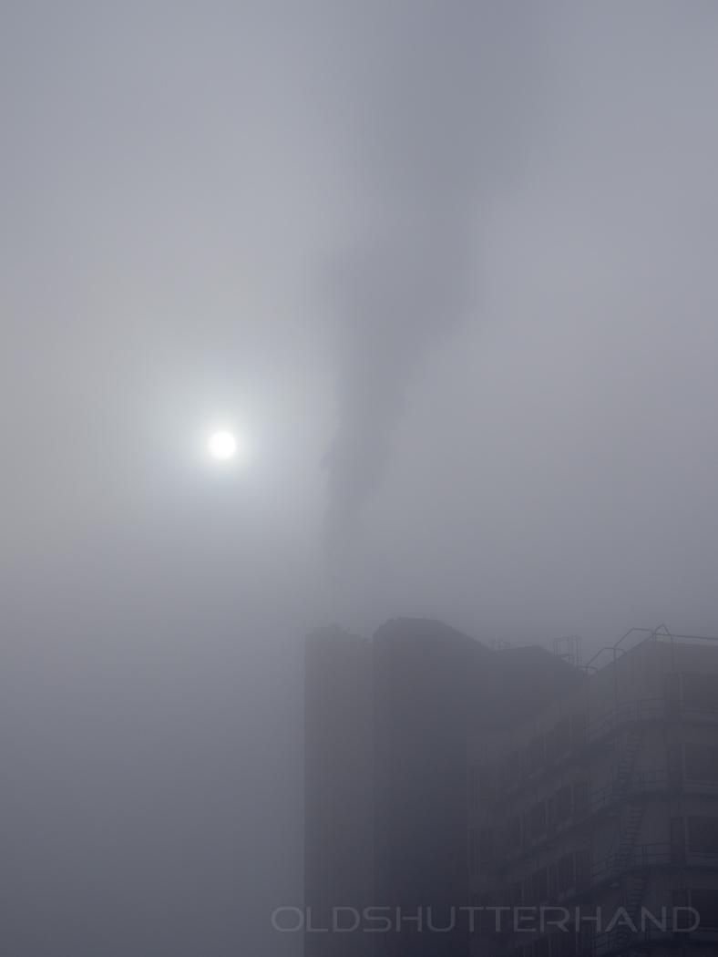 Nebel am Klinikum Bamberg