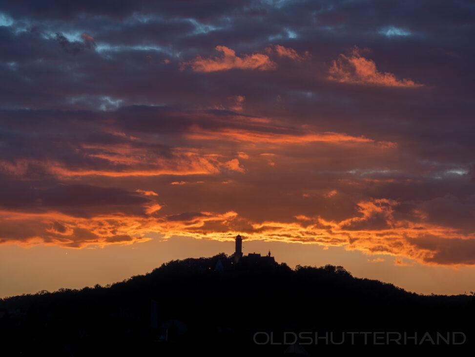 Altenburg Abendhimmel